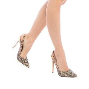 "Shoe Dazzle ""Farrin"" pointed-toe slingback pump"